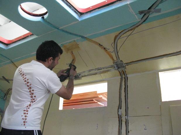 Schema Elettrico Per Taglia Polistirolo : Impianto elettrico u stepsover