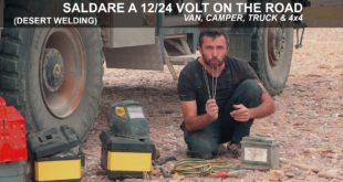 Saldare on the road con la batteria d'avviamento – BUSH WELDING